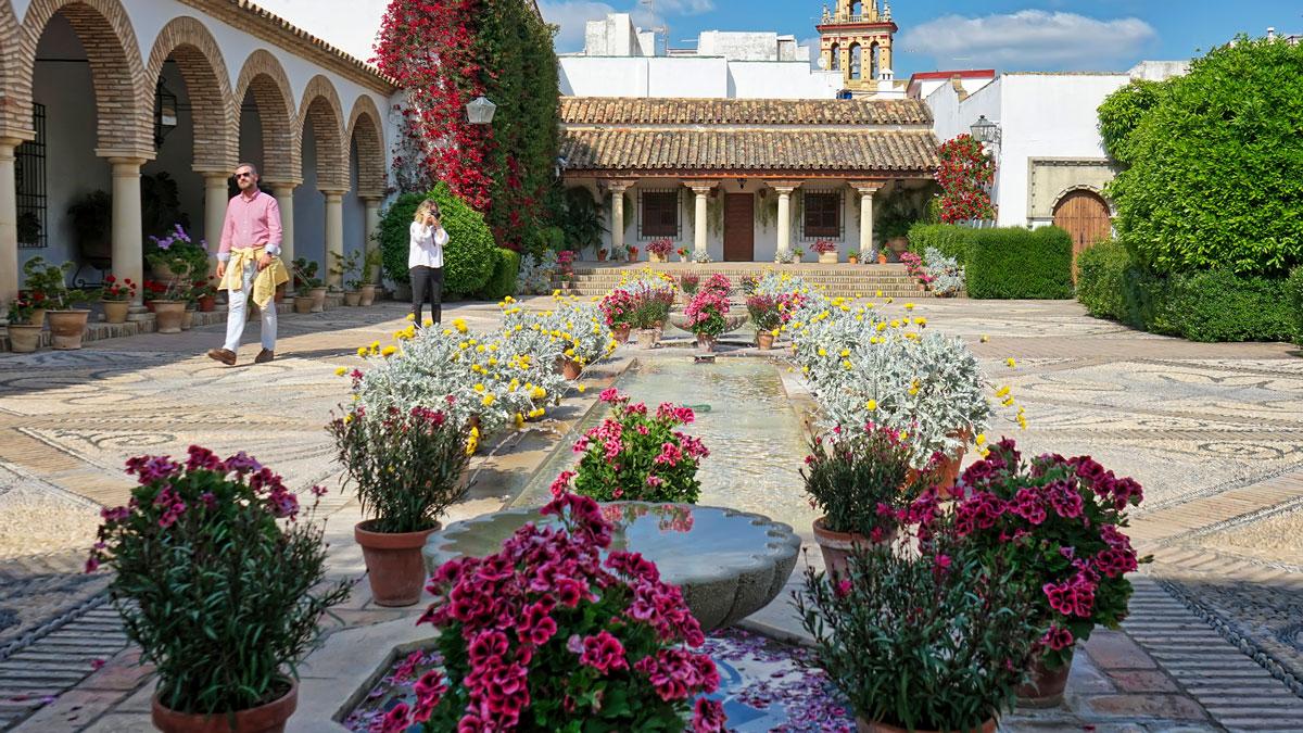 Patio del Palacio de Viana en Córdoba