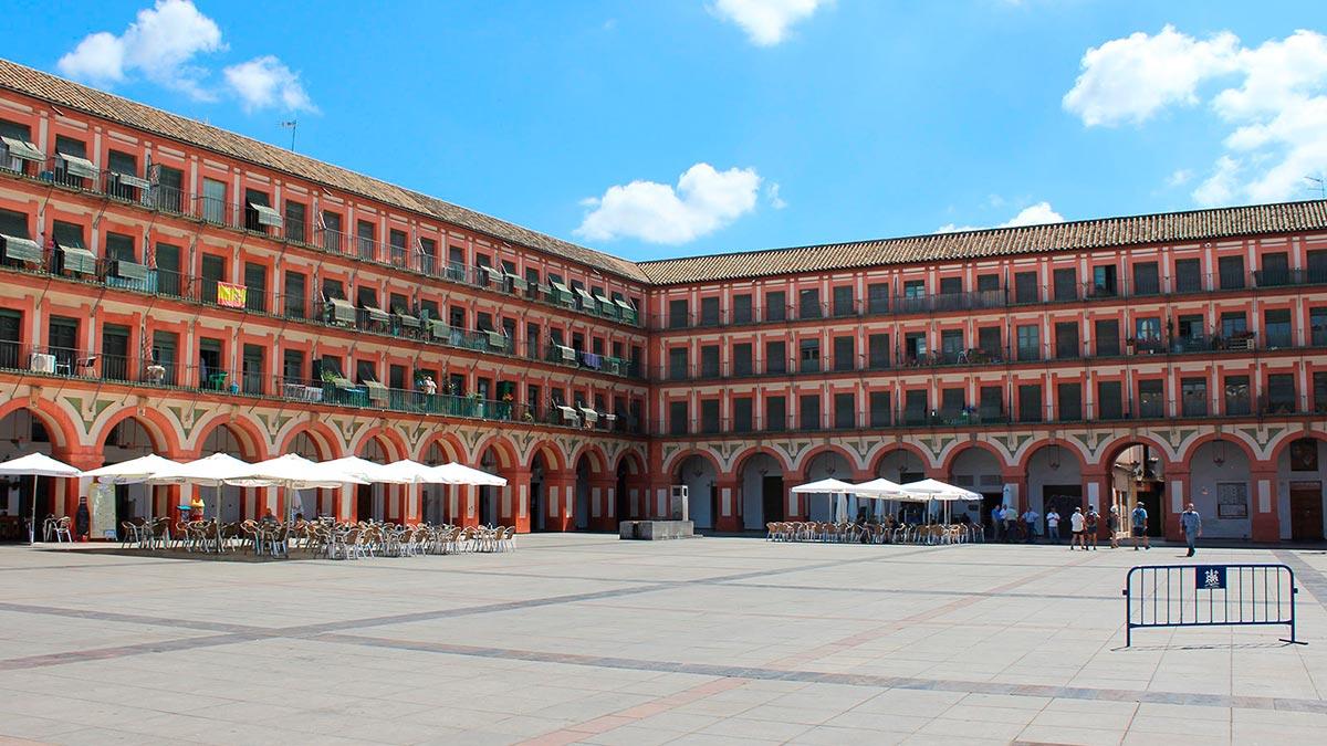 Plaza de la Corredera en Córdoba