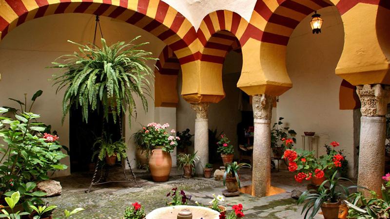 Patios de Córdoba en Navidad