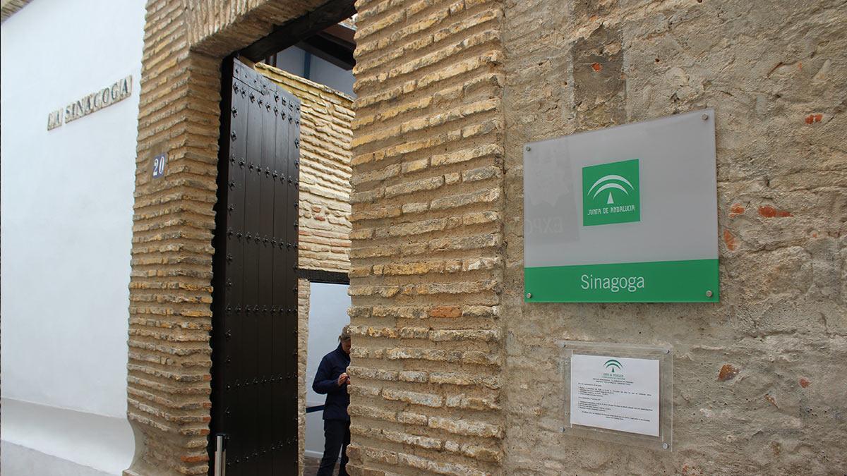 Entrada de la Sinagoga de Córdoba