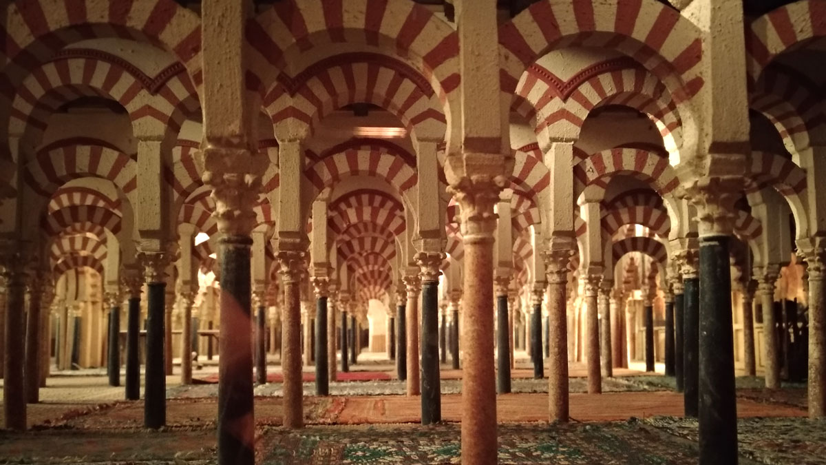 Maqueta de la Mezquita de Córdoba