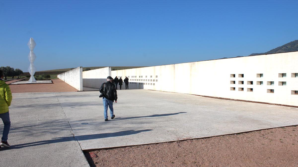 Entrada del museo de Medina Azahara