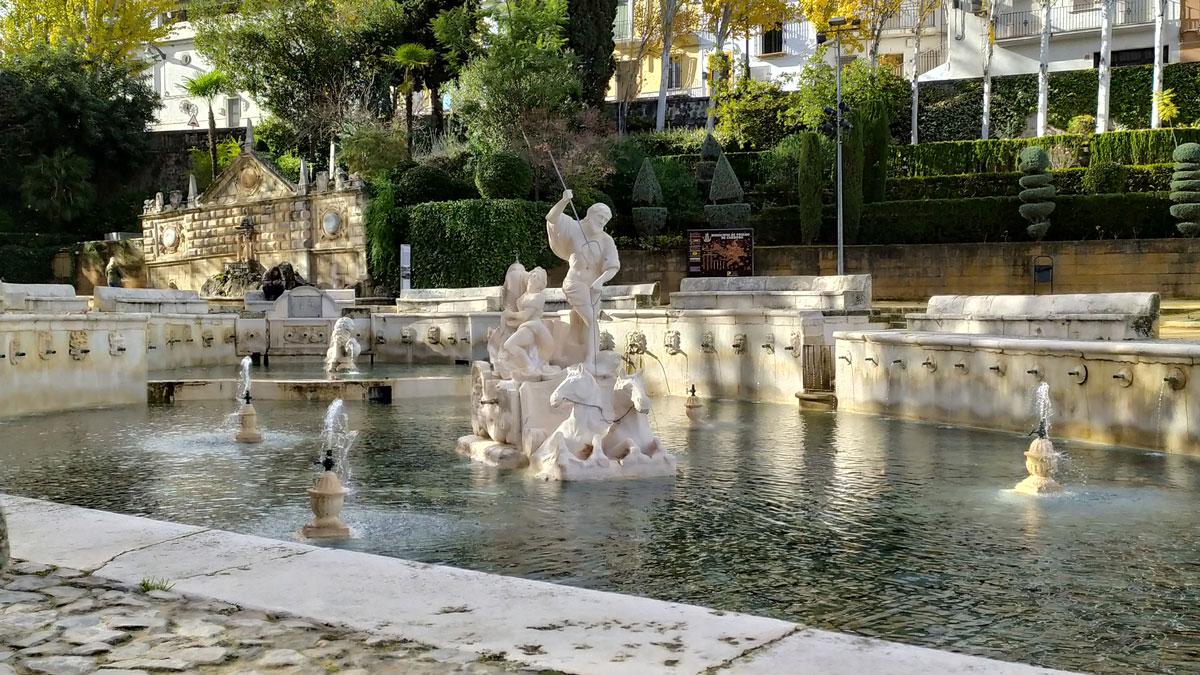 Fuente del Rey en Priego de Córdoba