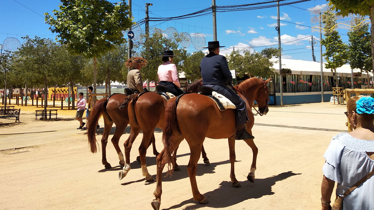 caballos-feria