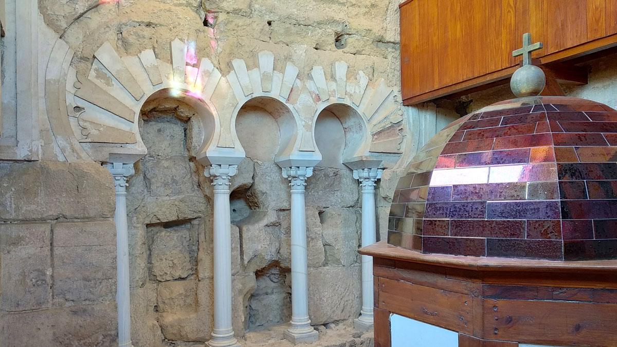 Alminar visitable en el interior de la Torre Campanario