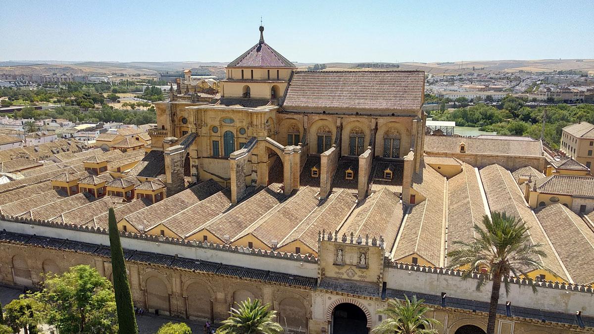 Mezquita de Córdoba desde la Torre Campanario