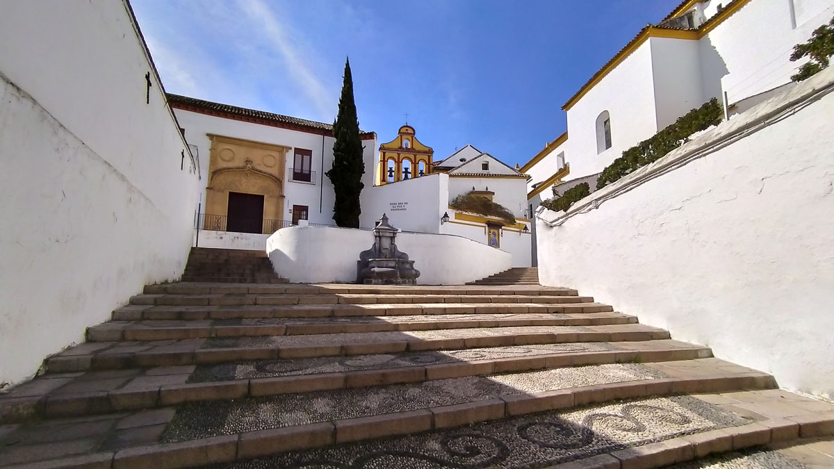 Cuesta del Bailío en Córdoba