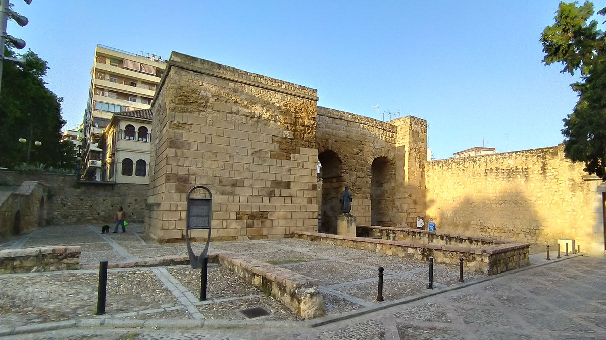 Puerta de Sevilla en Córdoba