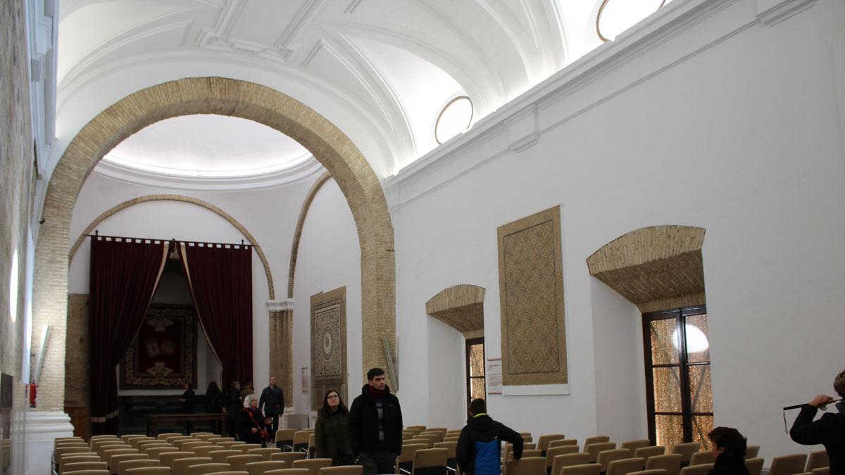 Salón de los Mosaicos en el Alcázar de Córdoba