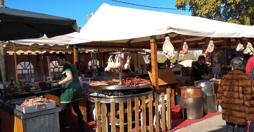 Comidas en el Mercado Medieval