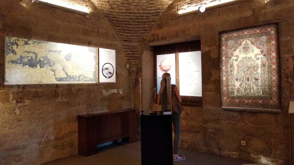 Exposición dentro de la Calahorra