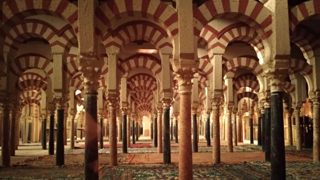 maqueta de la antigua Mezquita de Córdoba