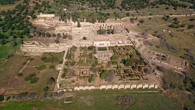 Vista aérea de Medina Azahara