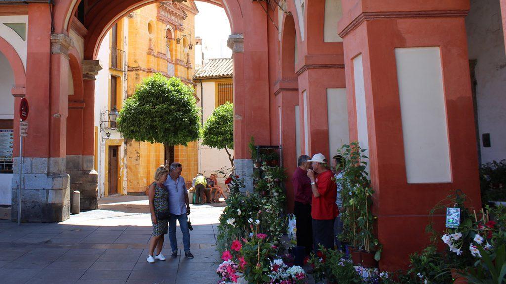 Tienda en la Plaza de la Corredera