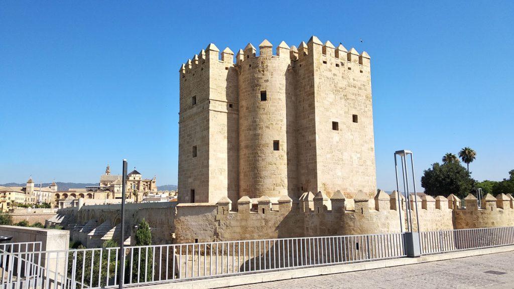 Vista trasera de la Torre de la Calahorra