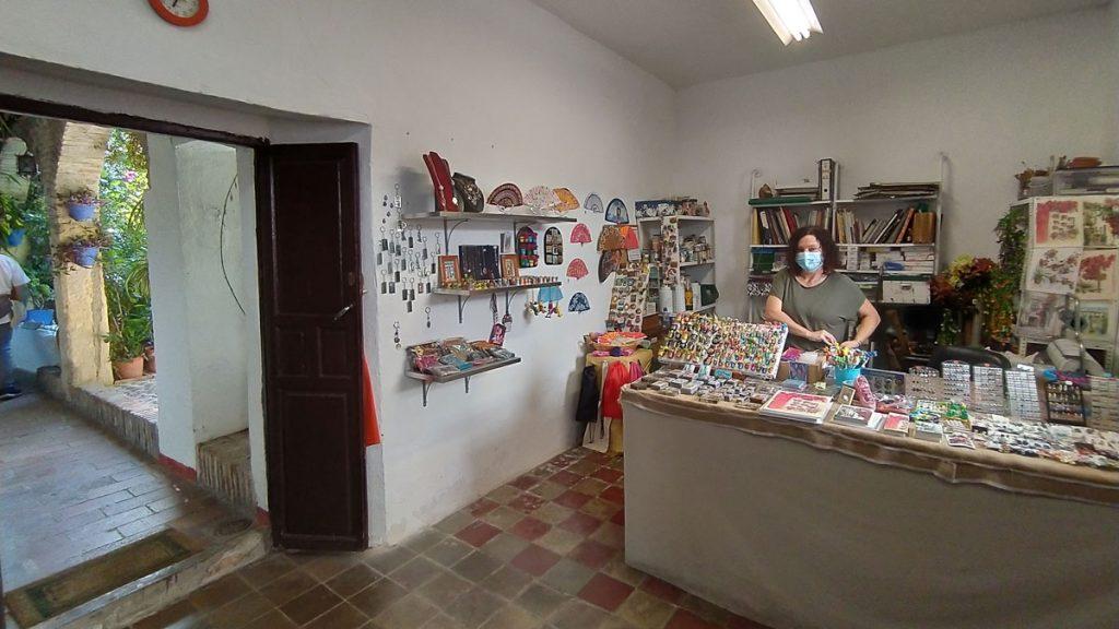 artesanía en los Patios de Córdoba