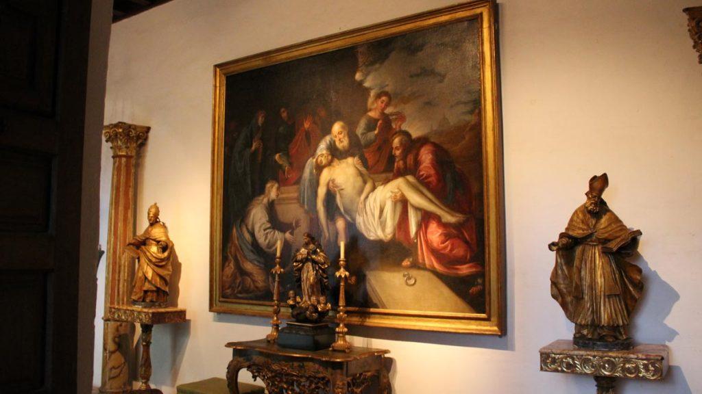 Sala en el interior del Palacio de Viana