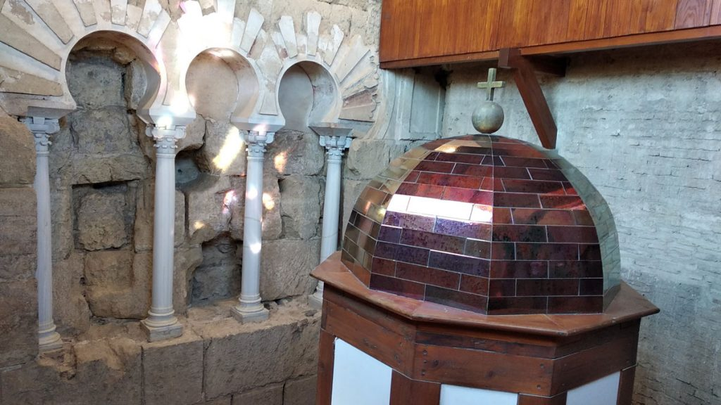 Interior de la Torre Campanario
