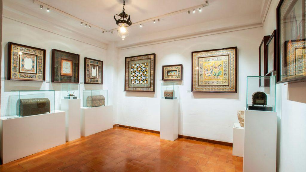 Interior de la Casa Museo Arte sobre Piel