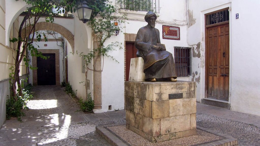Maimónides en la Judería de Córdoba