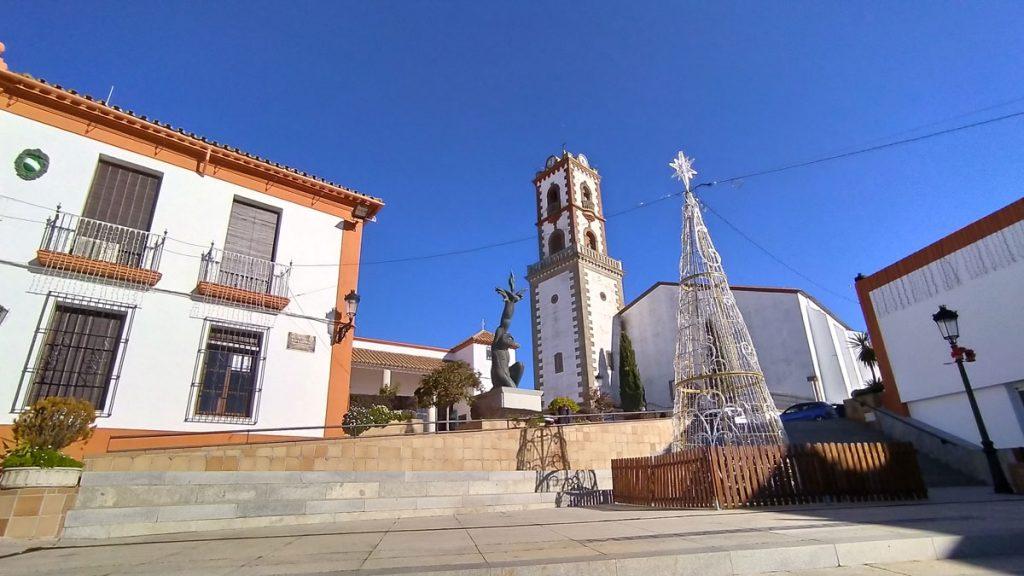 Plaza de Fuente Obejuna en Córdoba
